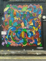 Onio street art Camden