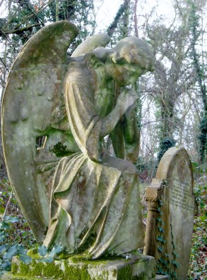 Angel Headstone Nunhead Cemetery