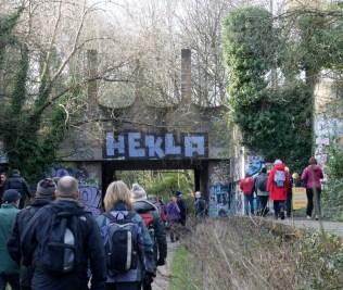 Under Crouch End Hill, Parkland walk