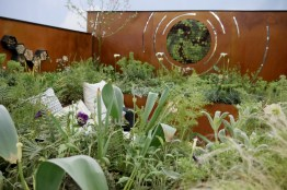 Competition garden entry at Ideal Home 2016