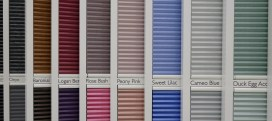 Colours for blinds Ideal home Show 2016