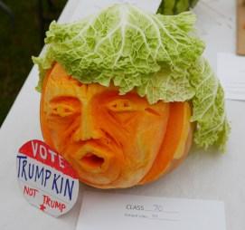 Donald Trump as trumpkin