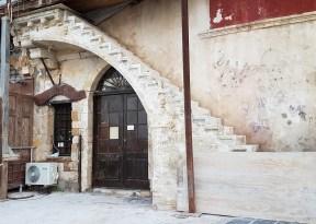 Venetian stairway Chania