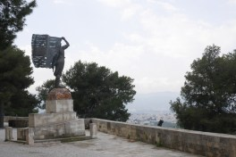 Venezelos graves and monument