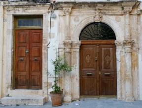 Old doors Chania