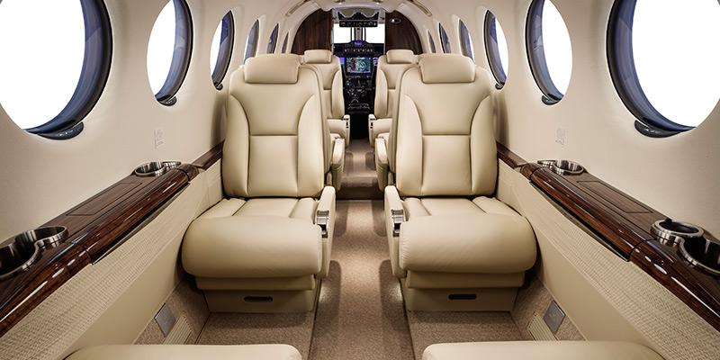 King Air C90gtx Interior Floor Plan