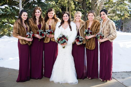 winter-barn-wedding-inspiration-bridesmaids