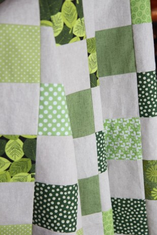 shire before quilting