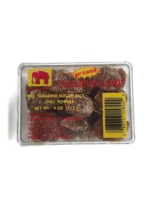 Asian Best Tamarind Candy, Hot Flavour with Chili Powder