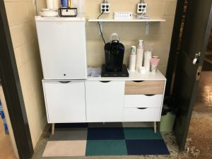 Wayfair cabinet and beverage station