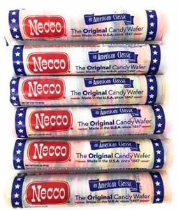Necco Wafer Original Candy Rolls, 6pk