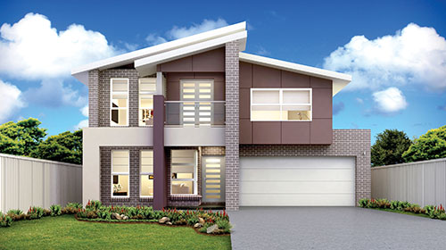 Double Storey Evolution Homes Beechwood Homes