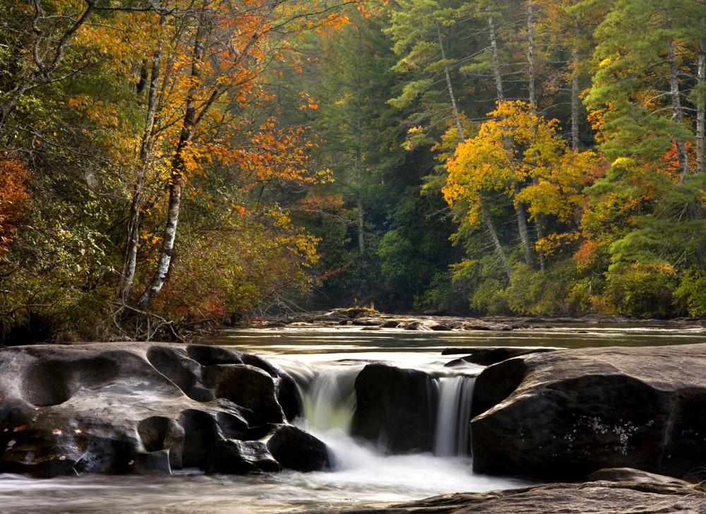 Waterfalls in North Georgia