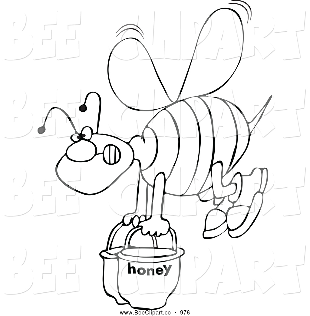 Royalty Free Stock Bee Designs Of Printable Coloring Pages