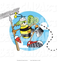 royalty free watering can stock bee clipart illustrations [ 1024 x 1044 Pixel ]