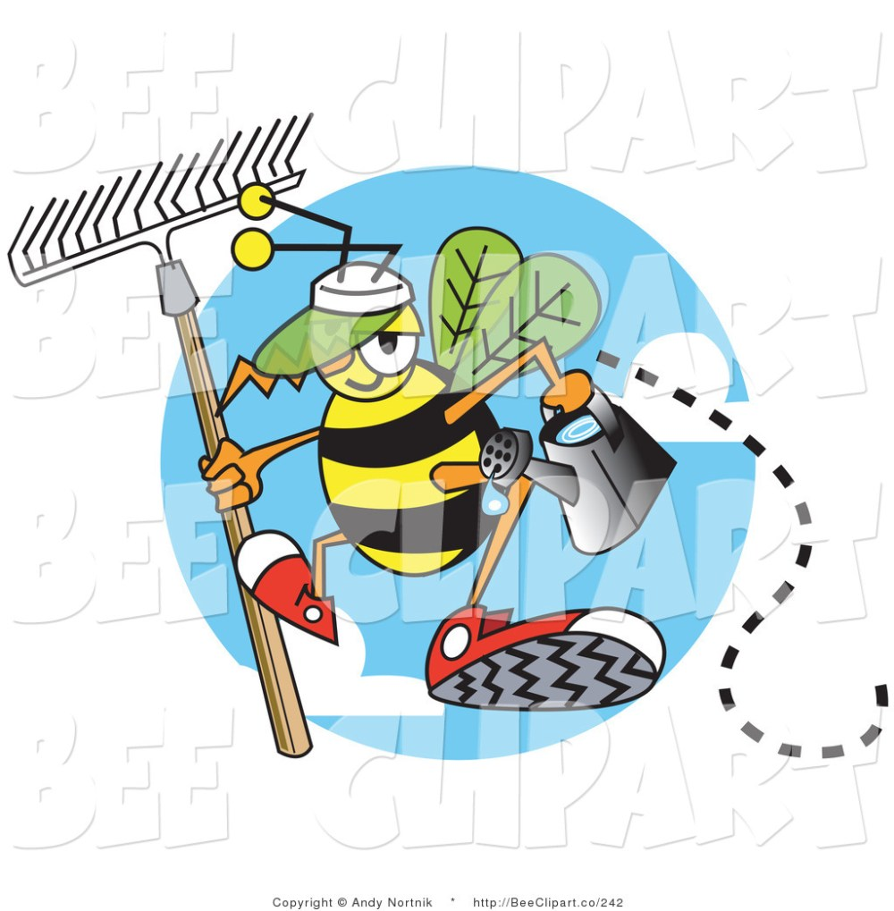 medium resolution of royalty free watering can stock bee clipart illustrations