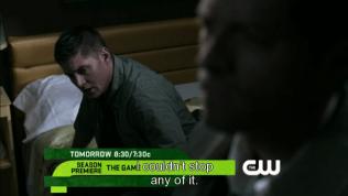 """Sau khi trở về, Dean tự trách bản thân, """"Tôi đã không thể ngăn lại bất cứ điều gì."""""""