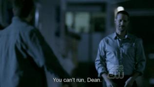 Dean bị tấn công...