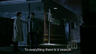 """""""Tất cả mọi thứ đều có nguyên do của nó."""" Cas trả lời - Và bản thân Bee cũng luôn tin như thế."""