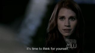 """""""Đã đến lúc cậu phải tự suy nghĩ rồi."""" Anna đáp."""