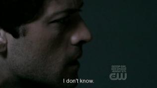 """""""Tôi không biết."""" - Cas đáp."""