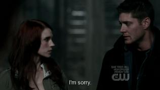 """""""Xin lỗi"""" - Dean nói."""