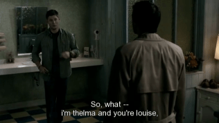 """""""Vậy giờ sao -- tôi là Thelma còn anh là Louise"""""""