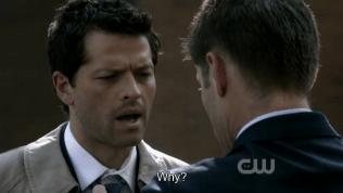 """Tại sao?"" - Cas vẫn không hiểu ~"
