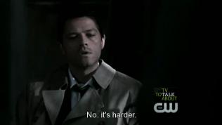 """""""Không, khó hơn thế."""" Cas thành thật trả lời."""