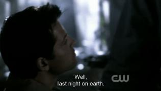 """""""Ừm, đêm cuối cùng trên đời."""" - Dean dò hỏi..."""
