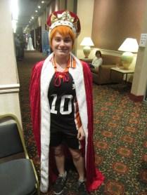 Đây là Queen mượn đồ King mặc nè, coi chừng thằng Kage nó thấy nó đánh cho =))))))