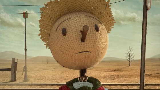 chipotle big food scarecrow advertisement