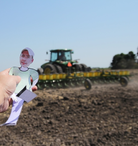 Visit to an Organic Farm in Minnesota Teaches Flat Ryan a Few Things