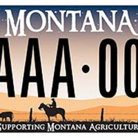 Montana - Land of 130 specialty license plates