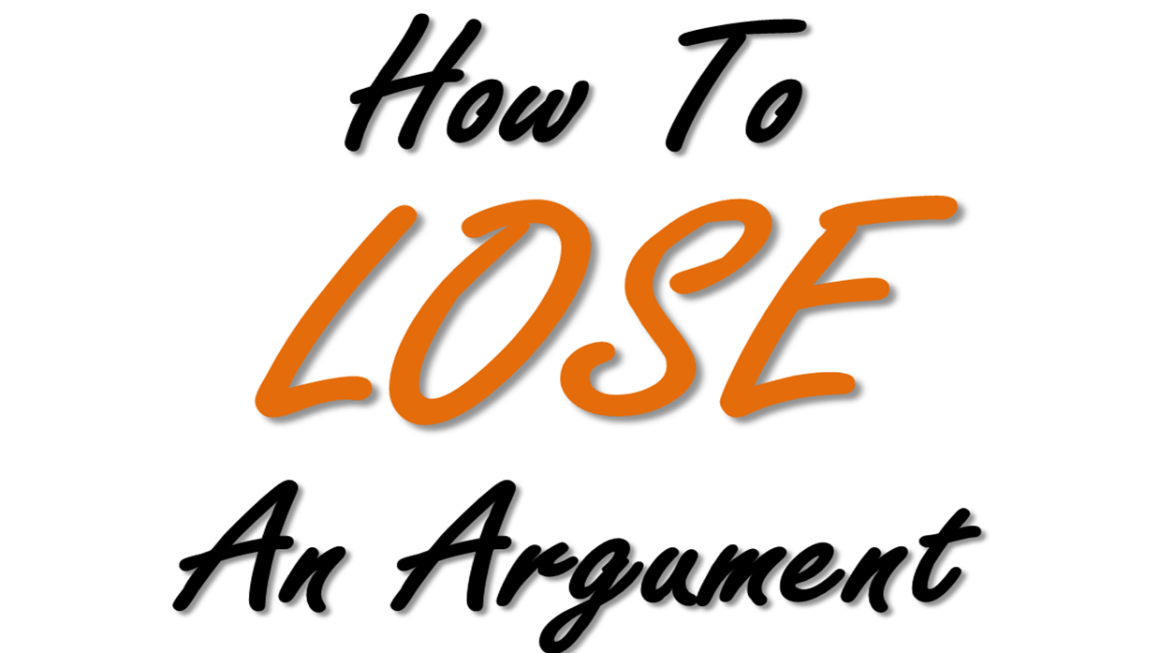 How to lose an argument on food and agriculture topics