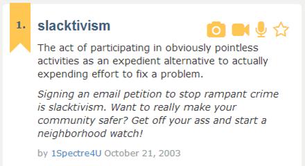 Does Slacktivism Work?