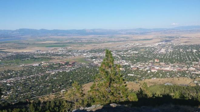 Running in Helena provides quite the view just minutes from Downtown.