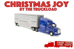 Farm Toys For Tots Toy Cattle Truck