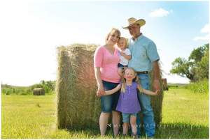 to raise another generation of kids to carry on our ranching heritage - Richelle Barrett, Montana