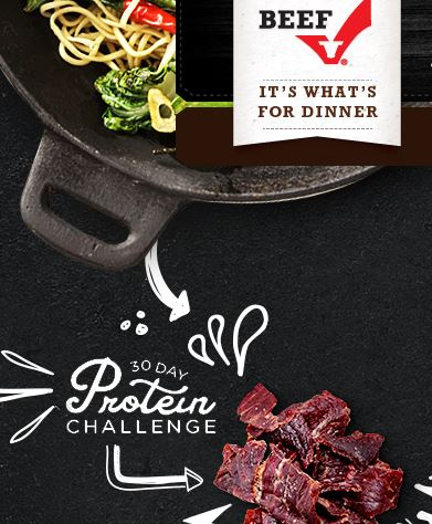Join me in the 30 Day Protein Challenge