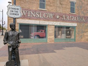 Standin on the corner in Winslow Arizona