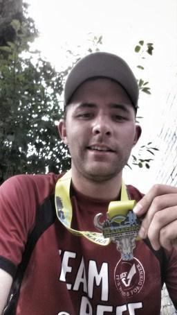 running bozeman half marathon finish medal