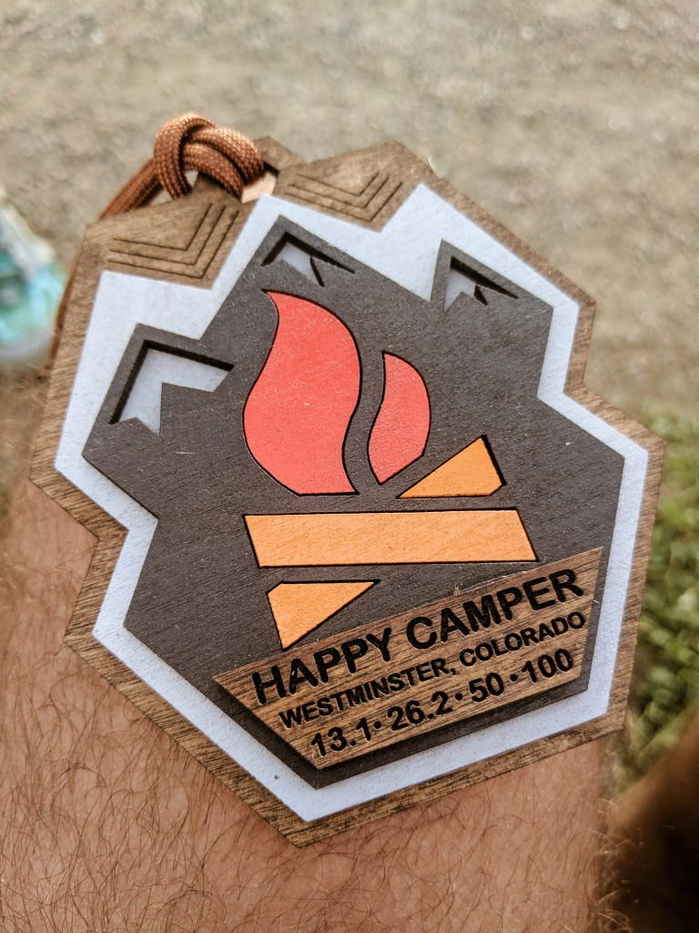 Happy Camper Fun Run Medal