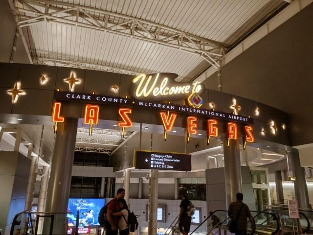 Las Vegas airport road trip