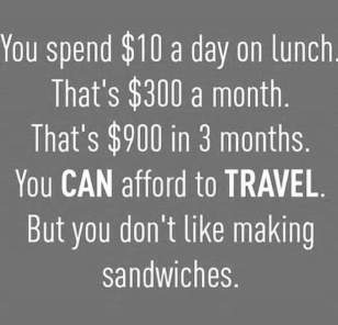 you can afford to travel tips