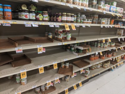 coronavirus empty shelves crisis advocacy tips