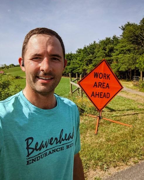 my first 100-mile run training