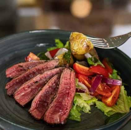 delicious summer steak salad