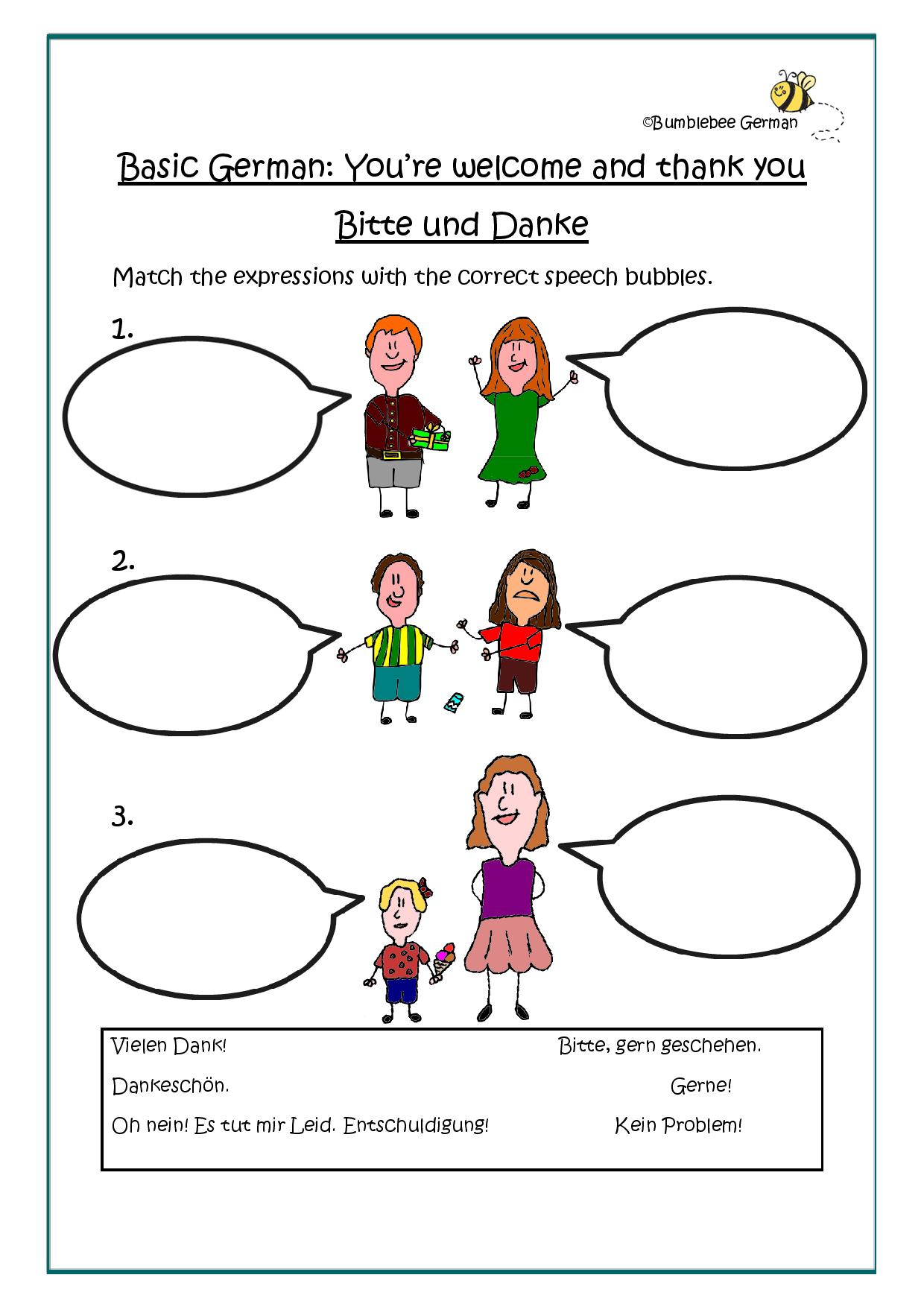Germ Worksheet