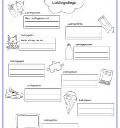 German worksheets for Kids - Printouts - BeeGerman [ 2339 x 1654 Pixel ]